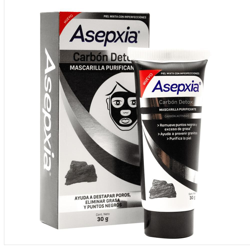 Mascarilla Facial Asepxia / 30 Gr image number 1.0