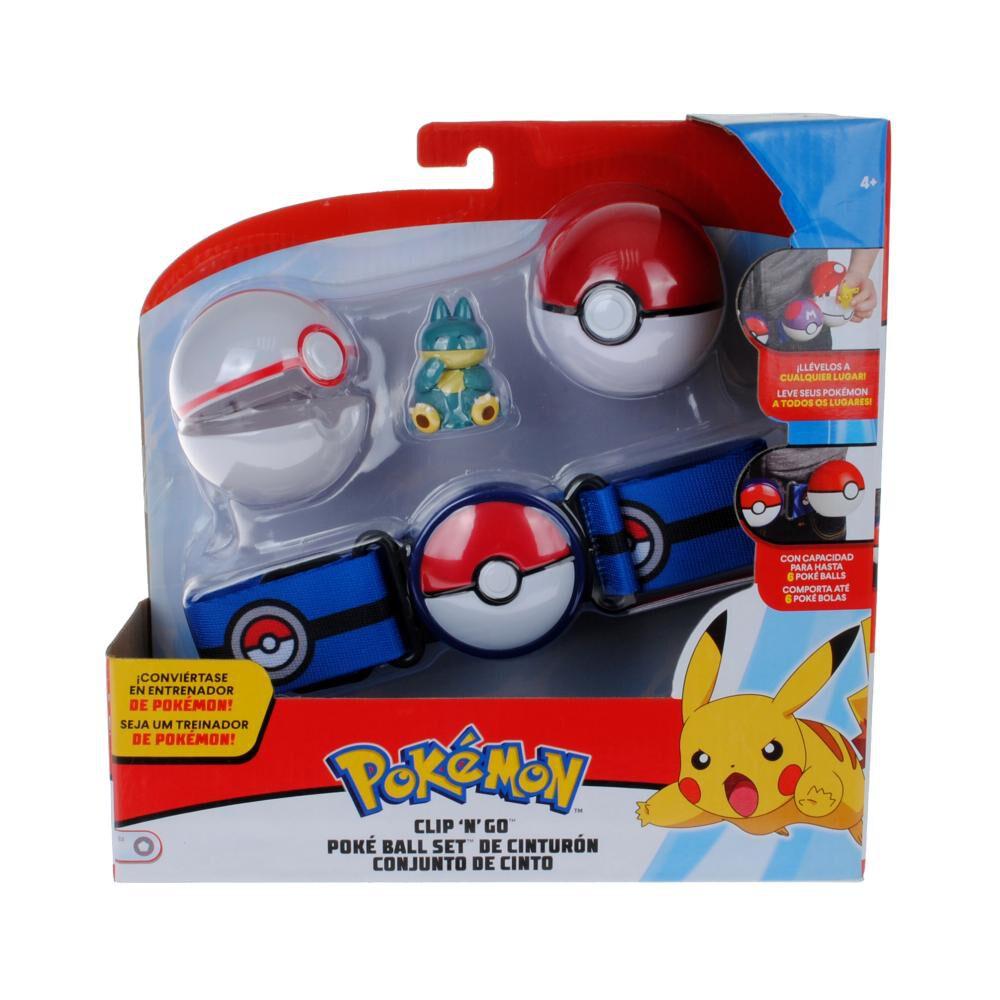 Cinturón  Pokemon Con 2 Pokebolas + Munchlax image number 0.0