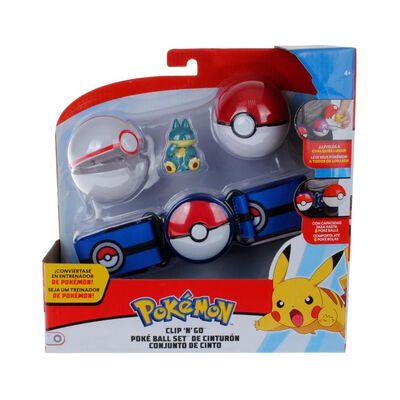 Cinturón  Pokemon Con 2 Pokebolas + Munchlax
