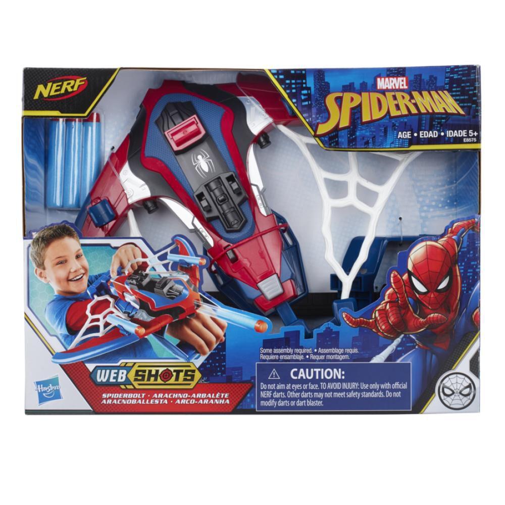 Juguete Interactivo Spiderman Spiderbolt Blaster image number 1.0