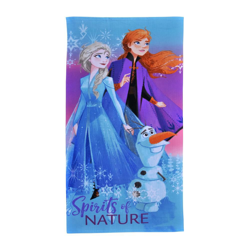 Toalla Playa Con Bolso Disney Frozen Nature image number 1.0