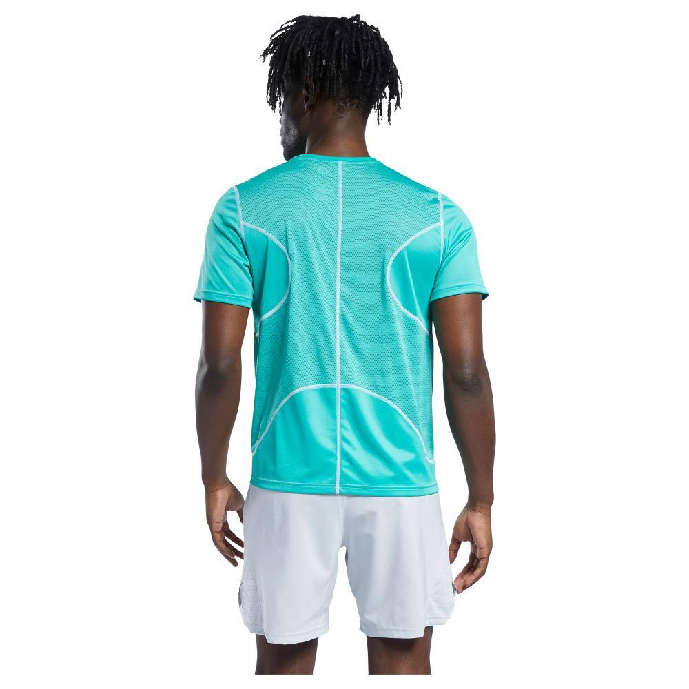 Polera Hombre Reebok Run Essentials Speedwick Short Sleeve Tee image number 2.0