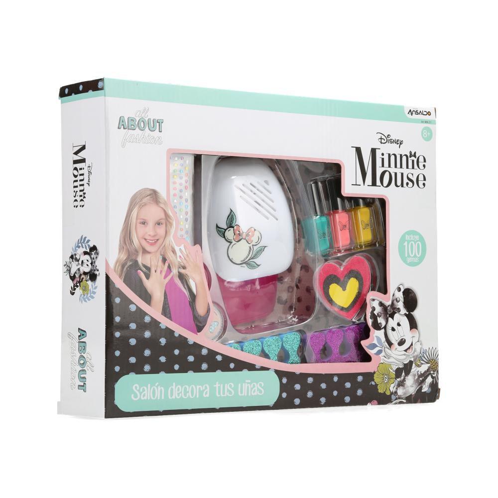 Tocador Cosméticos Minnie Salón Decora Tus Uñas image number 1.0