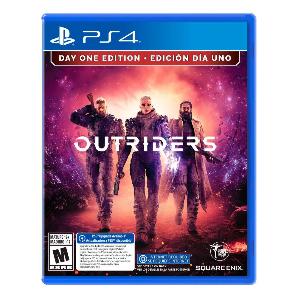 Juego Ps4 Sony Outriders image number 0.0