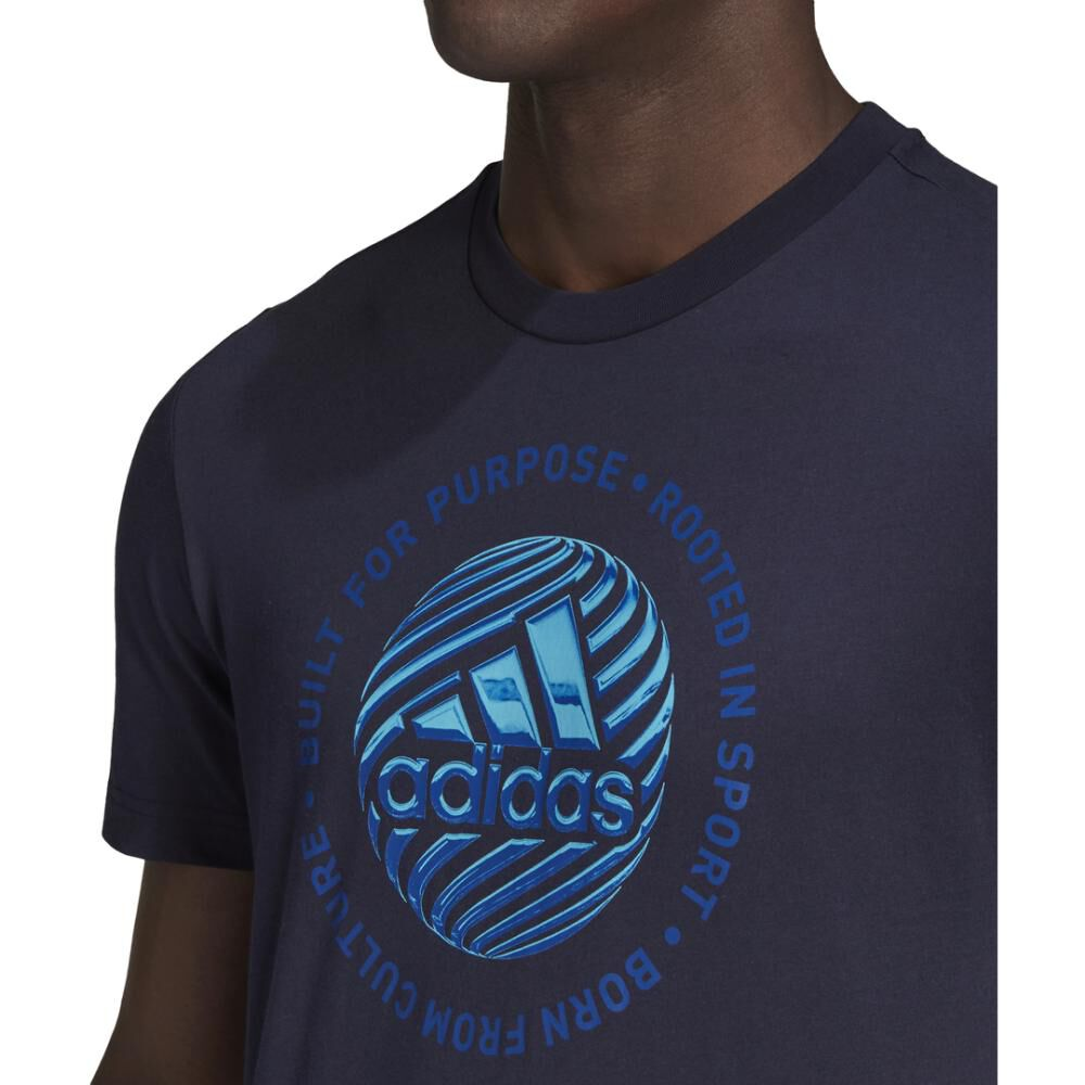 Polera Hombre Adidas M Hyperreal Circled image number 6.0