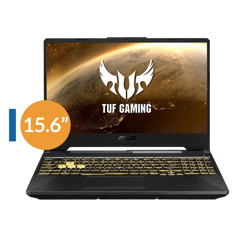 "Notebook Gamer Asus TUF F15 FX506LI / Intel Core I5 10300H / GTX 1650TI 4 GB / 144 HZ / 512 GB / 8 GB / 15.6"" image number 0.0"