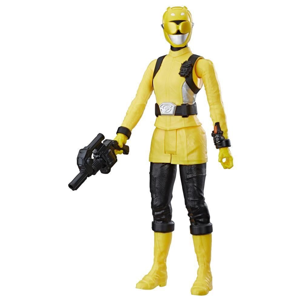 Figura De Acción Power Rangers Bmr Yellow Ranger image number 1.0