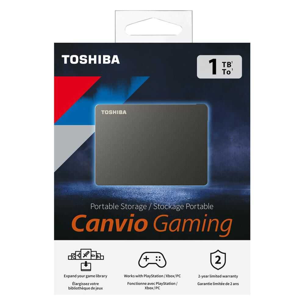 Disco Duro Portátil Toshiba Canvio Gaming / 1 Tb image number 7.0