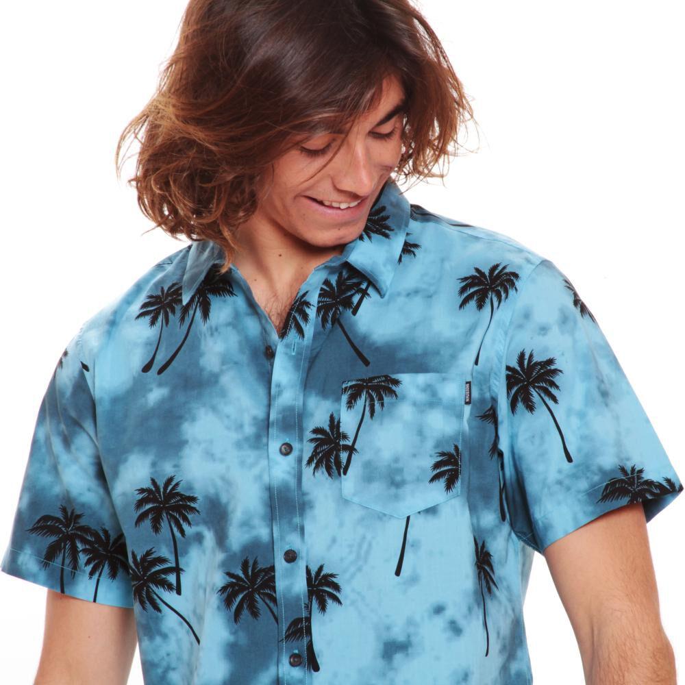 Camisa Hombre Maui Azulino image number 2.0