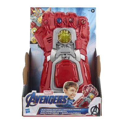Juguete Interactivo Avenger Iron Man Guantelete Electrónico Sfx De Película