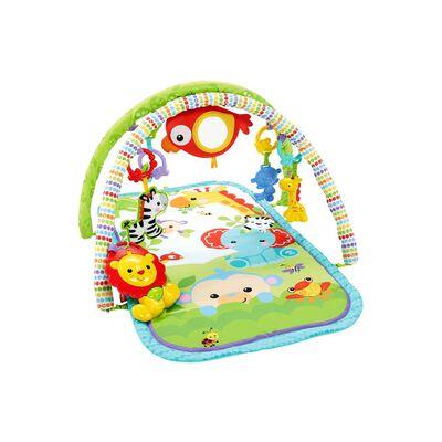 Juegos Fisher Price Gimnasio Musical 3En1 Amigos De La Naturaleza
