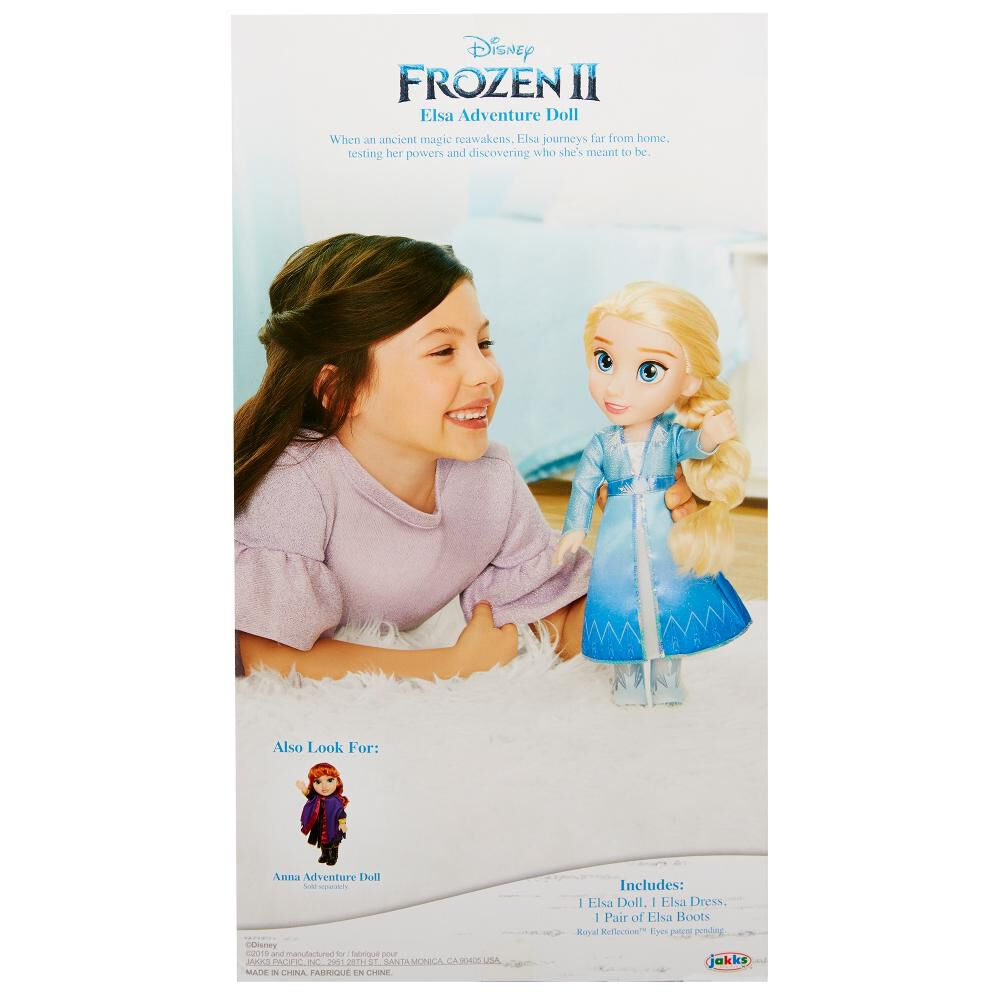 Muñecas Toddler Frozen 2 Elsa image number 4.0