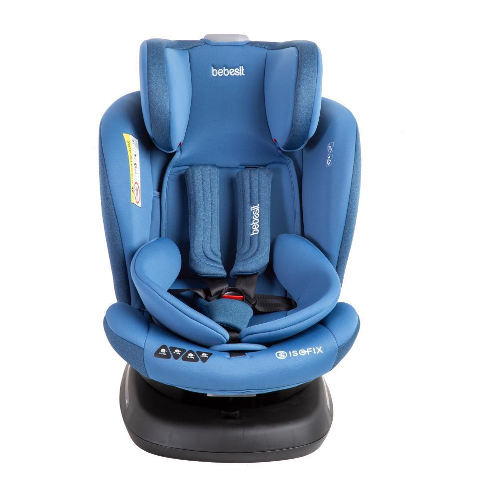 Silla De Auto Ajustable Bebesit S64 Azul image number 3.0