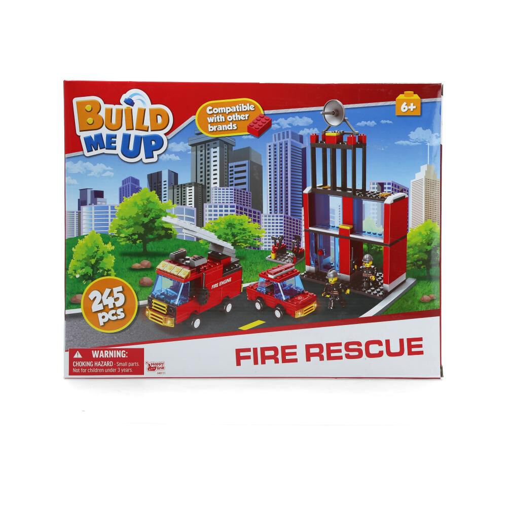 Bloques Armables Build Me Up Fire Rescue image number 1.0