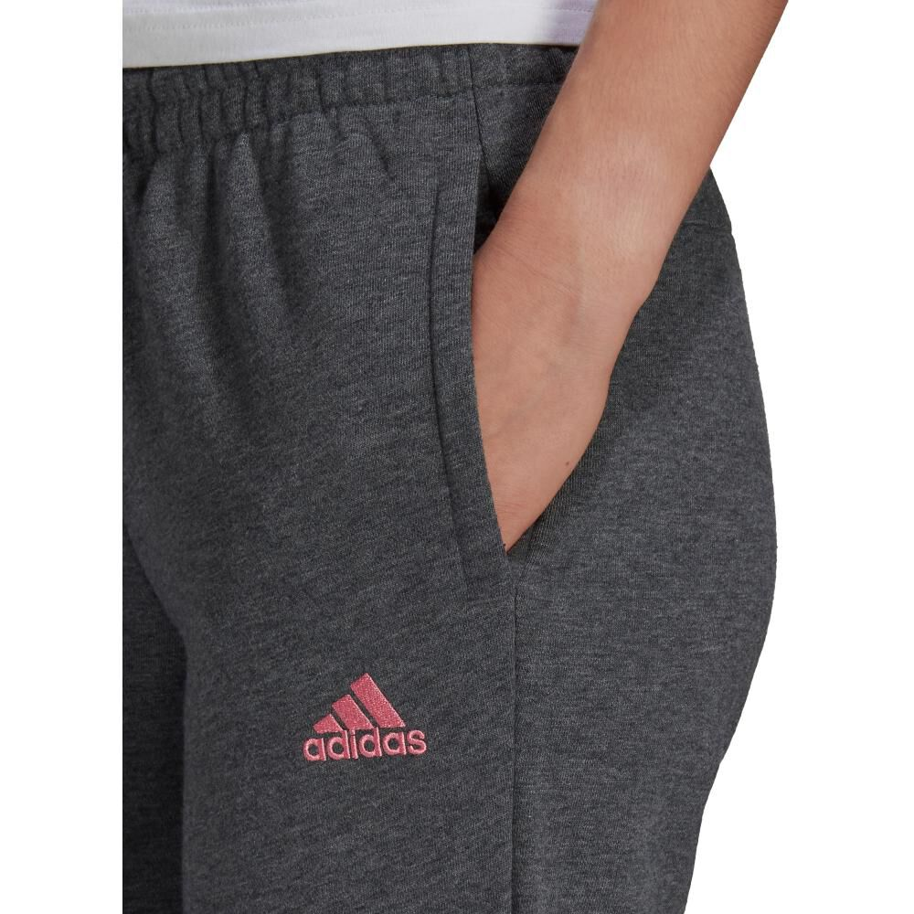 Pantalón De Buzo Mujer Adidas Essentials French Terry Logo image number 2.0
