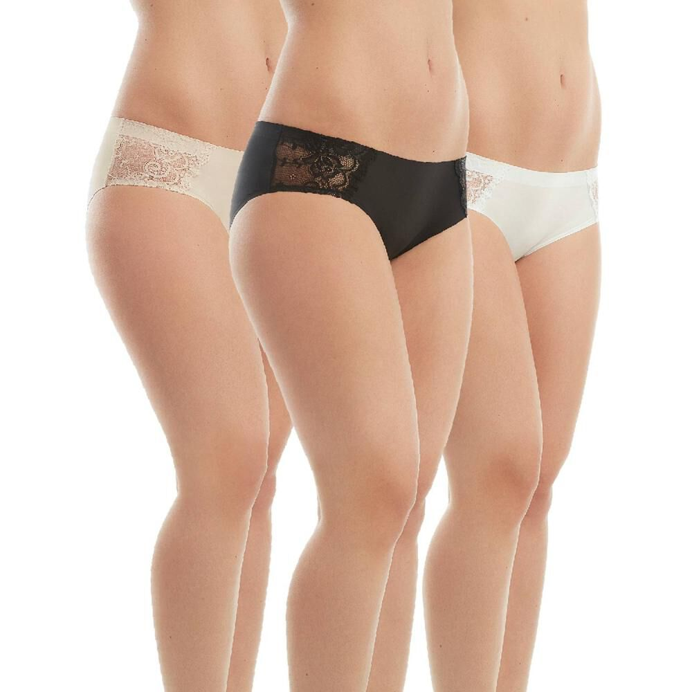 Pack Bikinis Mujer Flores / 3 Unidades image number 0.0