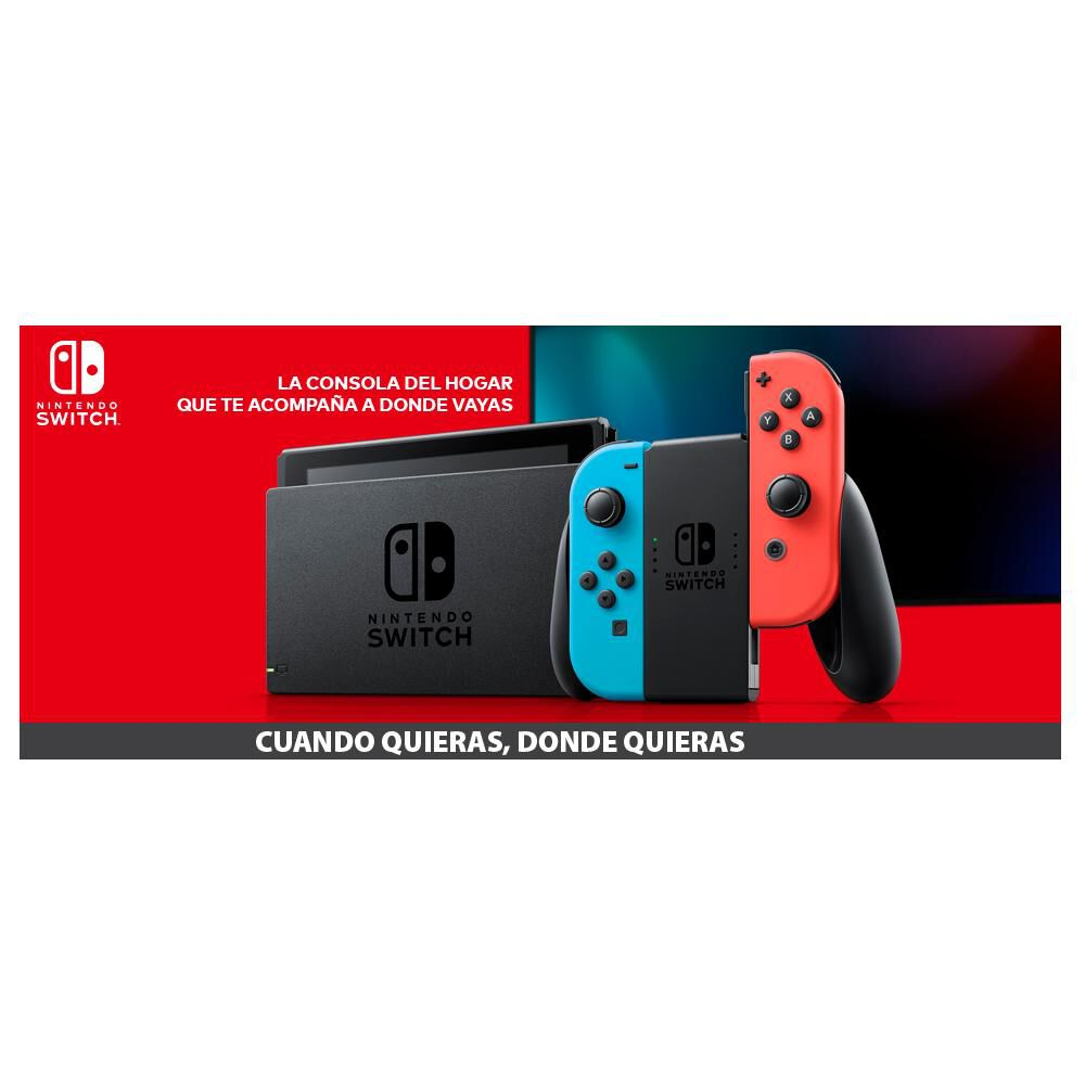 Consola Nintendo Switch Neon image number 2.0