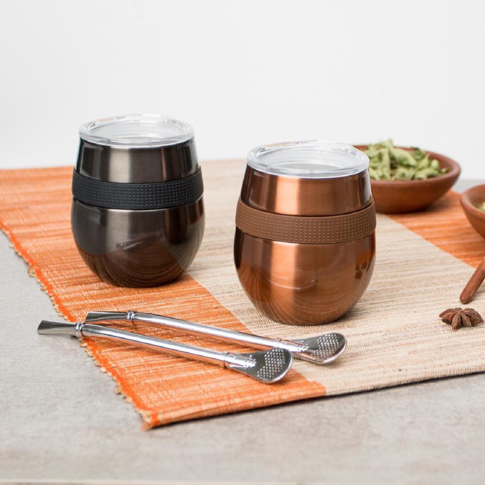 Set Mug Doite Cucao, Copper + Black image number 1.0