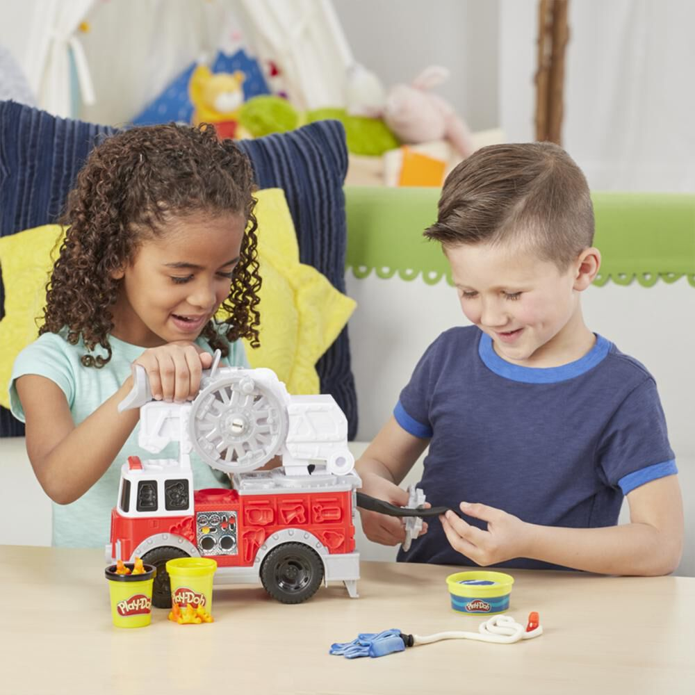 E6103 Play-Doh Camión De Bomberos image number 3.0