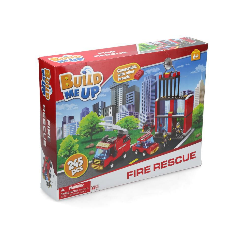 Bloques Armables Build Me Up Fire Rescue image number 2.0