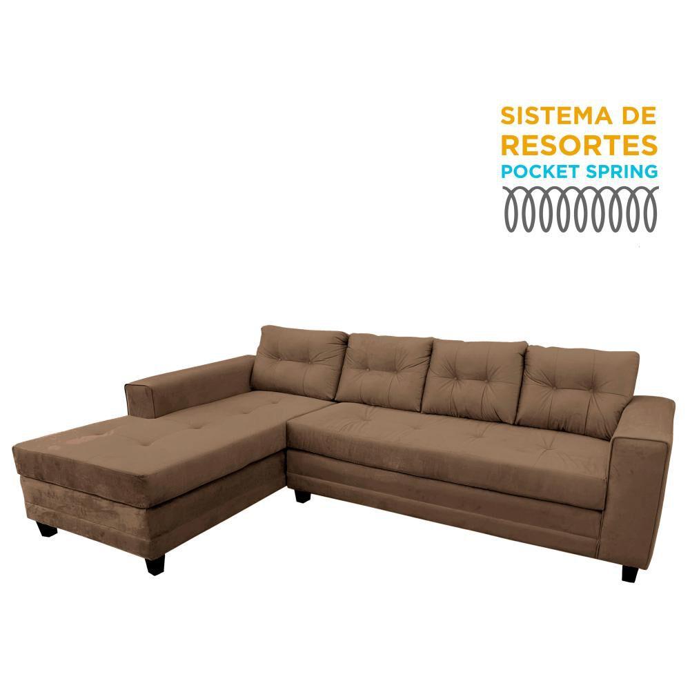 Sofá Seccional Living Factory Golden Izquierdo / 5 Cuerpos image number 0.0