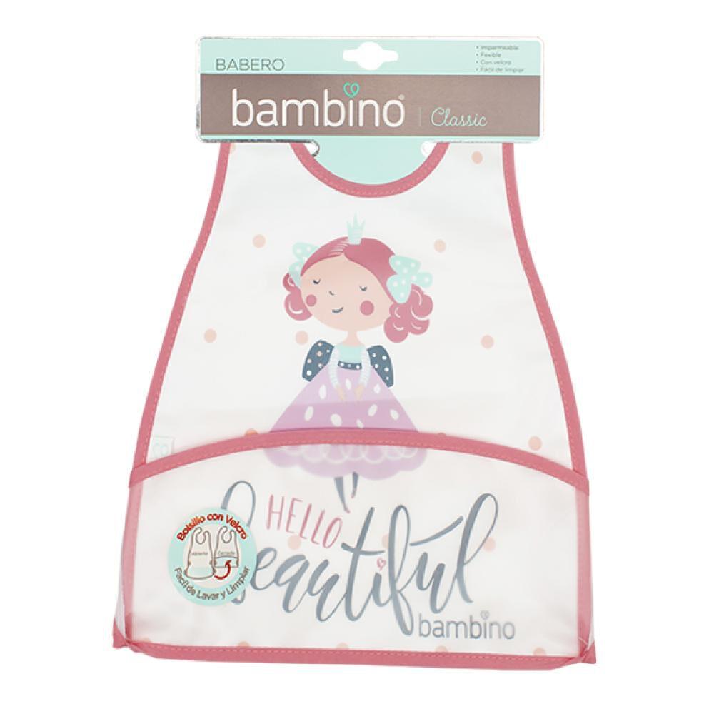 Babero Impermeable Peva Beautiful  Bambino  image number 1.0