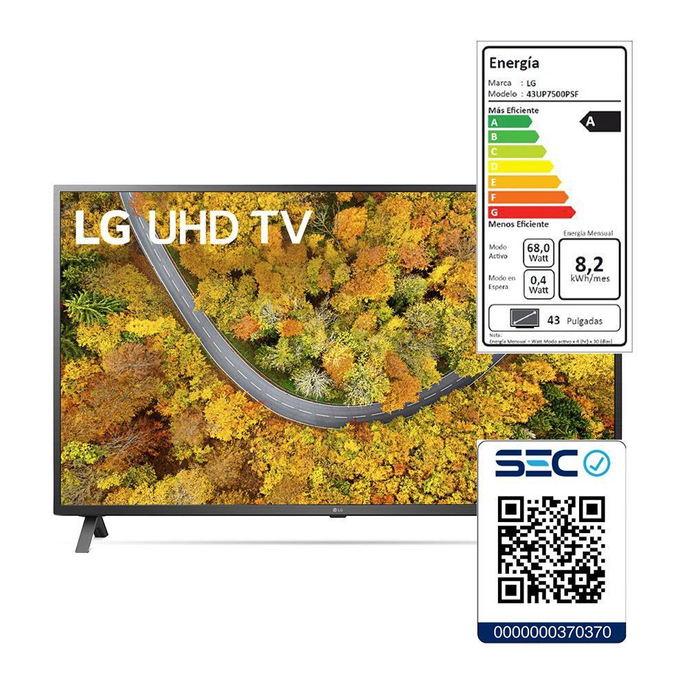 """Led LG UP7500PSF / 43 """" / Ultra Hd / 4k / Smart Tv image number 6.0"""
