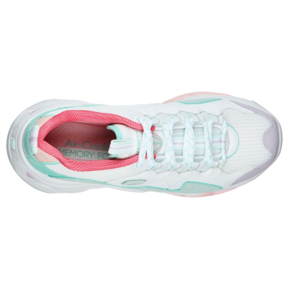Zapatilla Urbana Mujer Skechers D'Lites 3.0 - Moon Visions image number 3.0