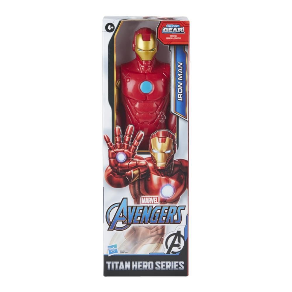 Figura De Accion Avenger Titan Hero Movie Iron Man image number 1.0