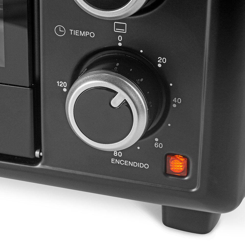Horno Eléctrico Somela Black Oven To4601Bk / 46 Litros image number 2.0