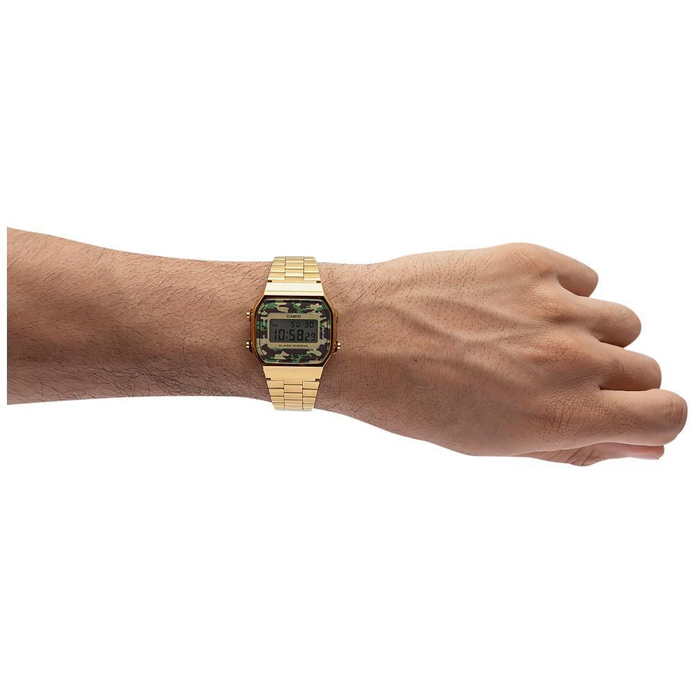 Reloj Casual Hombre Casio A168wegc-3df image number 3.0