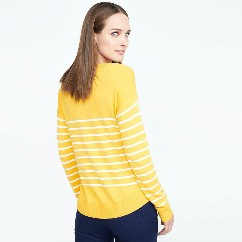 Sweater Rayas Mujer Geeps image number 2.0