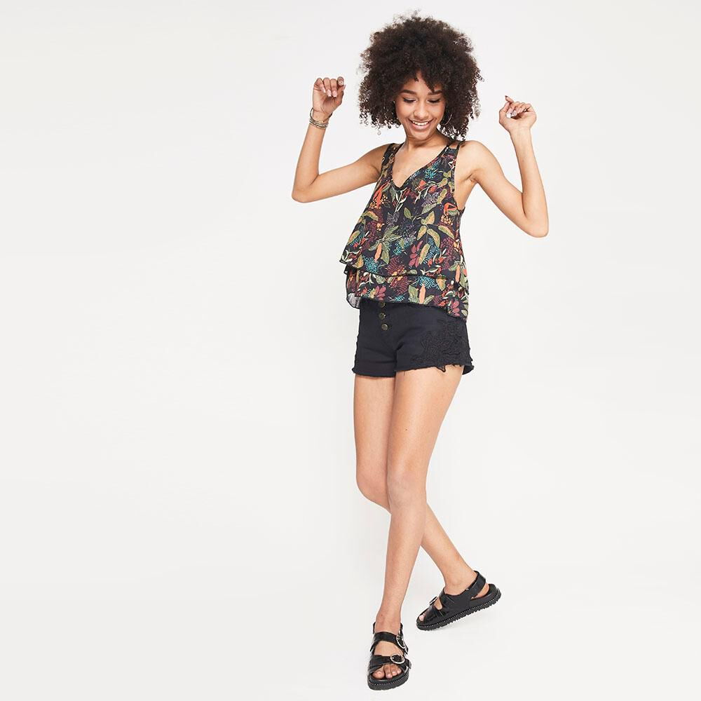 Blusa  Mujer Rolly Go image number 1.0