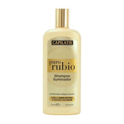 Shampoo Iluminador Puro Rubio 410 Ml Capilatis