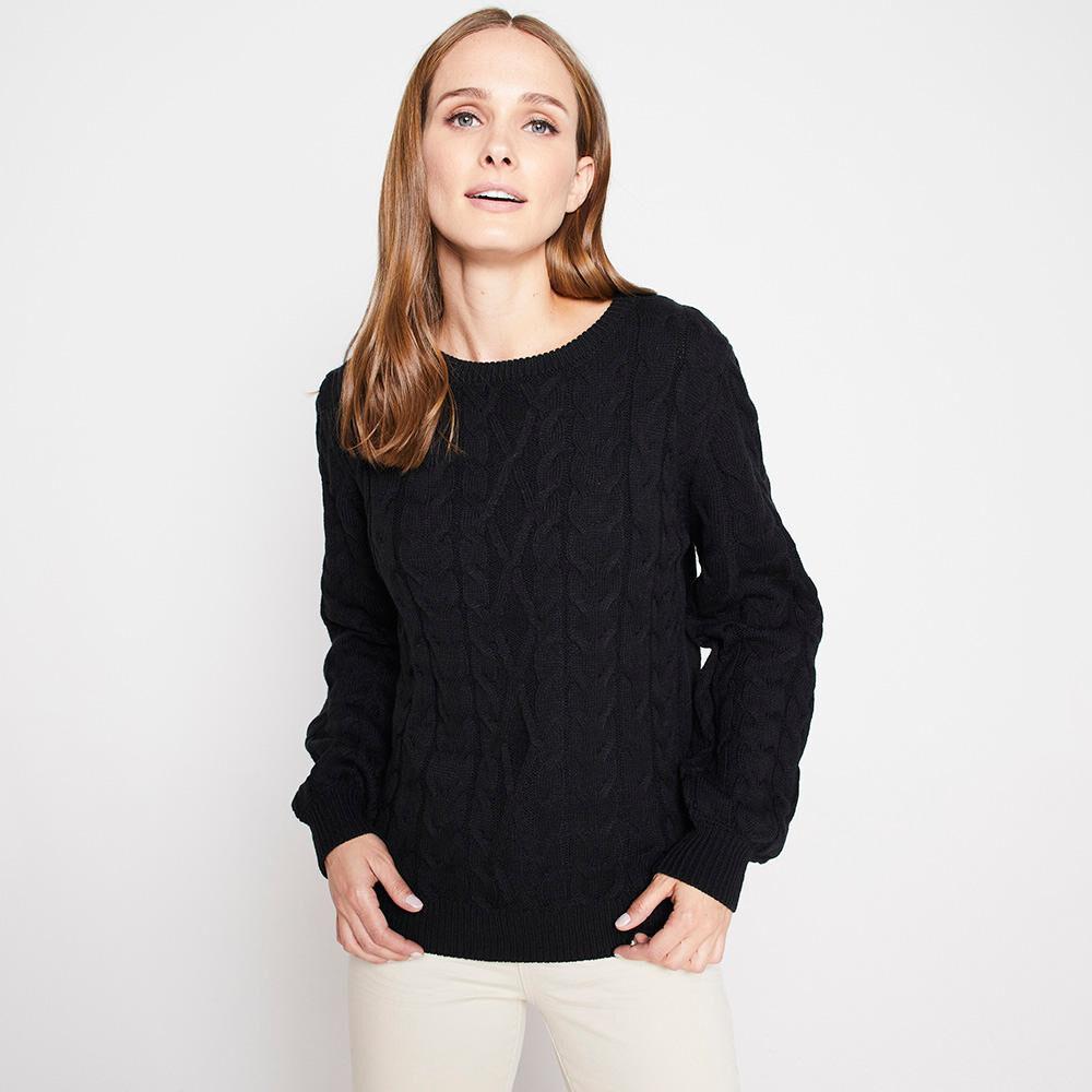 Sweater Trenzado Mujer Kimera image number 0.0