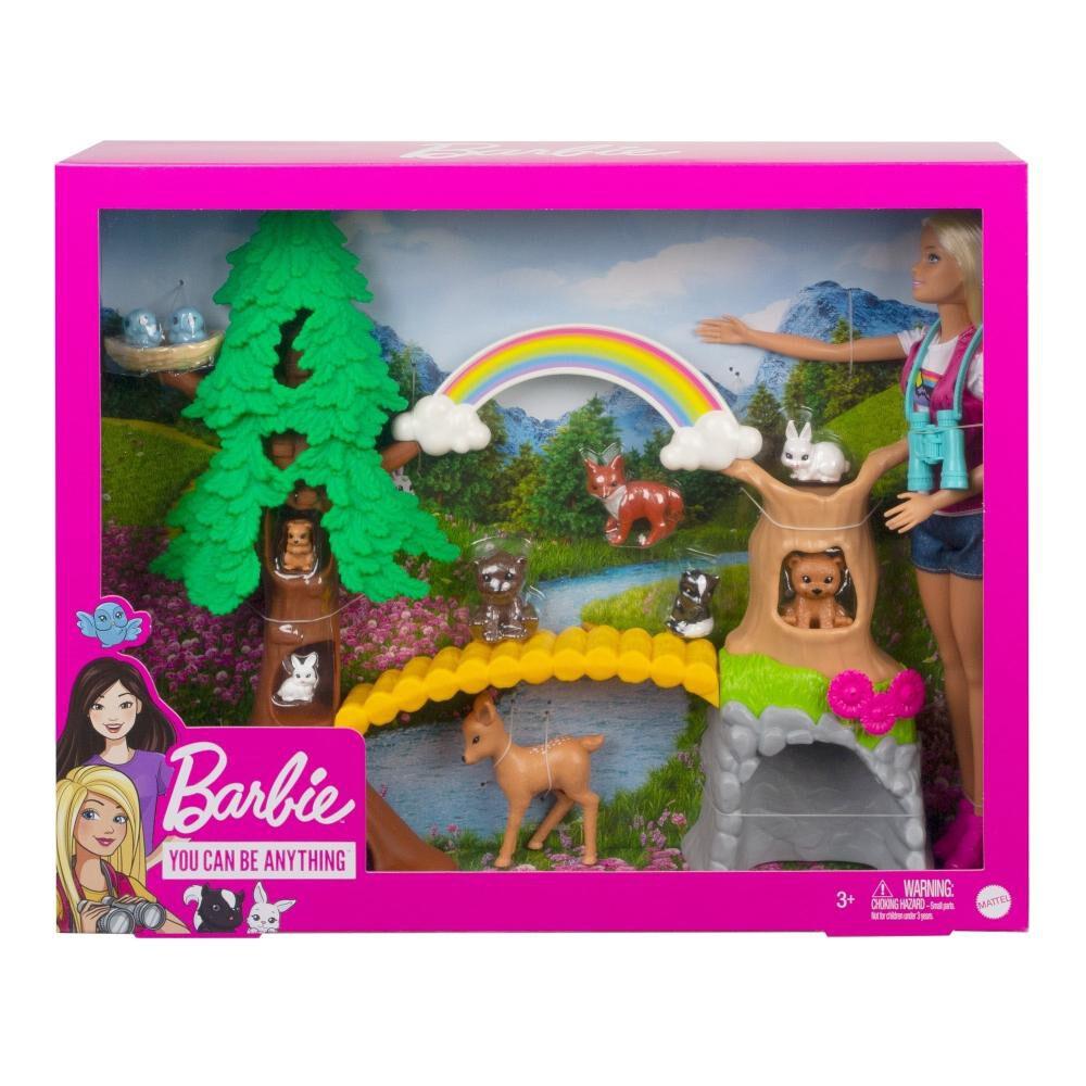 Exploradora Silvestre Barbie Careers image number 3.0