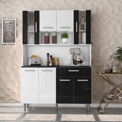 Mueble De Cocina Home Mobili Segovia / 8 Puertas / 1 Cajon