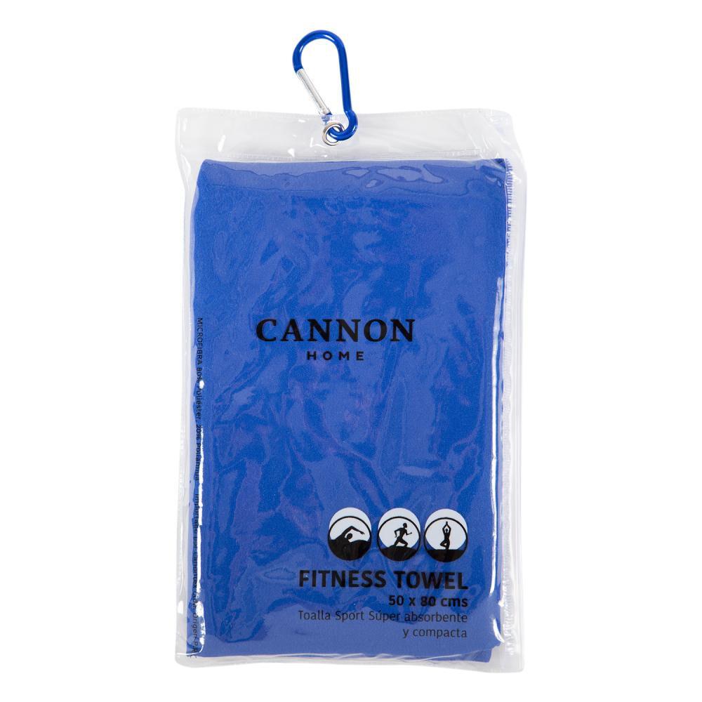 Toalla De Baño Cannon Fitness Azul  / Playa image number 1.0