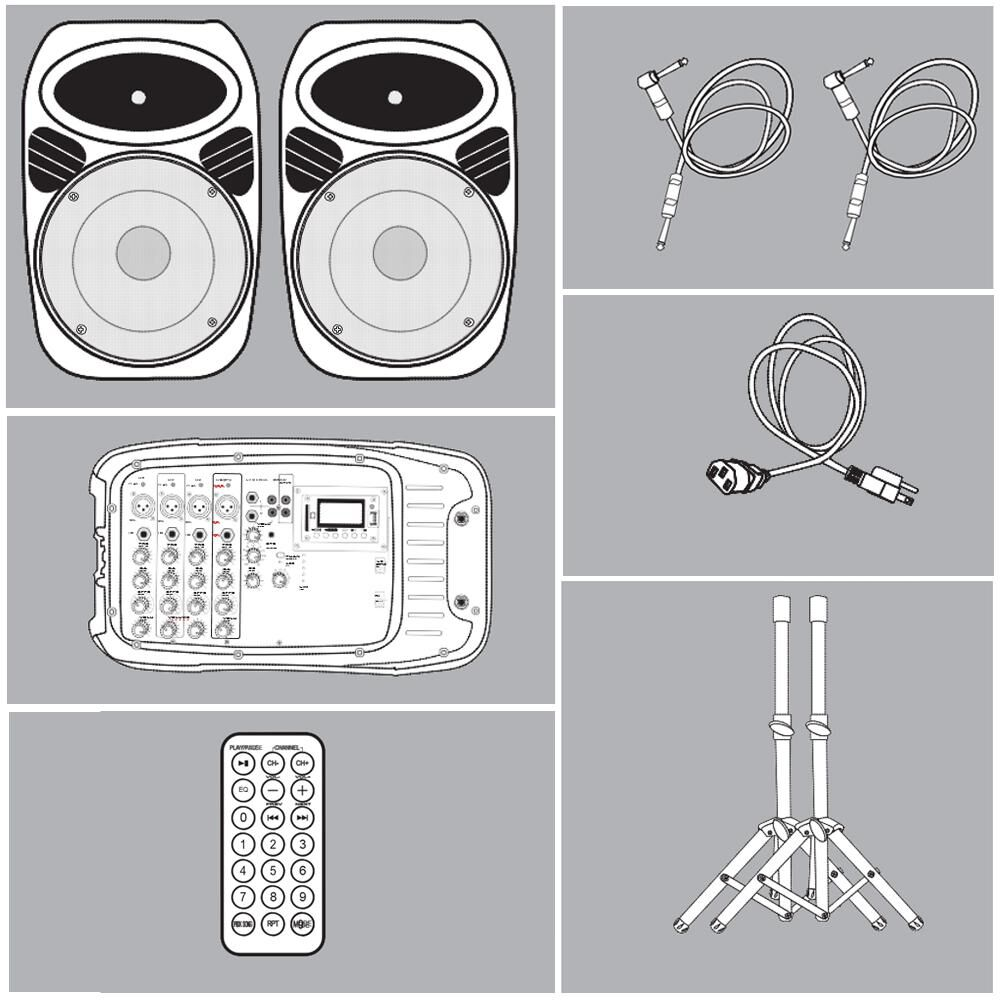 Kit Amplificación Hyundai Blast2x10 image number 1.0