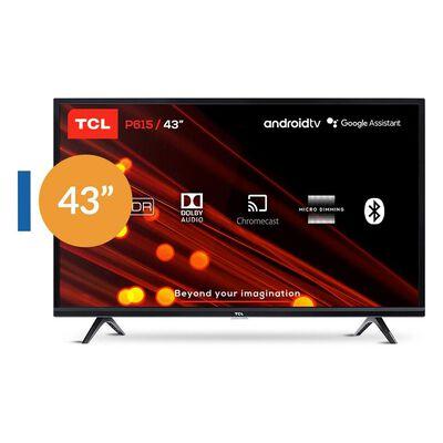 """Led TCL 43P615 / 43 """" / Ultra Hd / 4k / Smart Tv"""