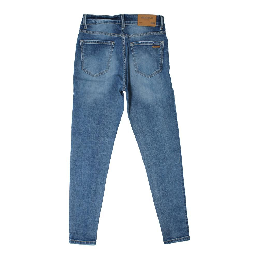 Jeans  Niña Teen Red&Rock image number 1.0