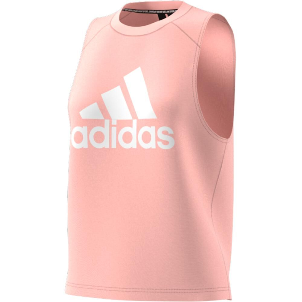Camiseta Sin Mangas Mujer Adidas Badge Of Sport Cotton image number 7.0