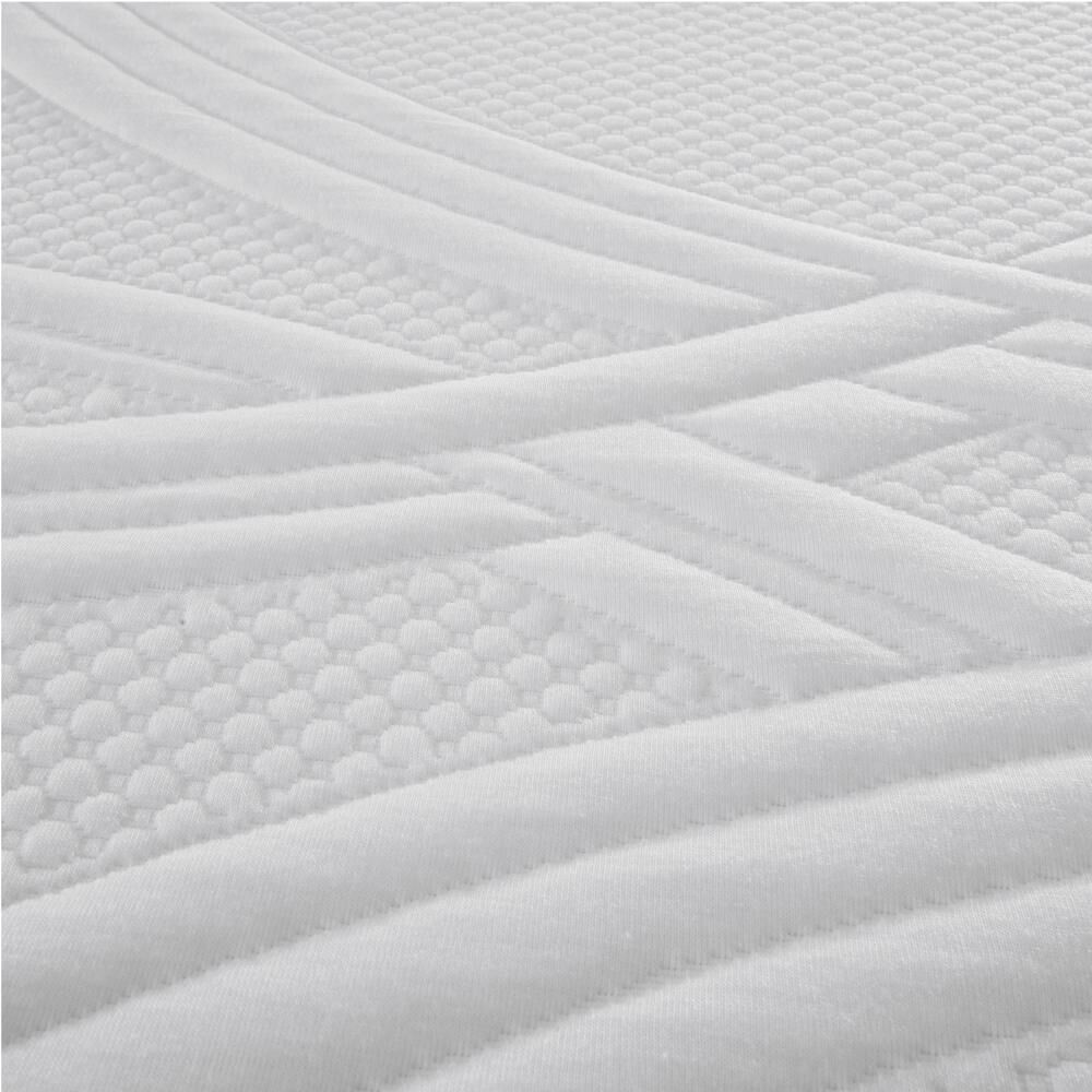 Cama Europea Cic Ortopedic / King / Base Dividida  + Set De Maderas + Textil image number 3.0
