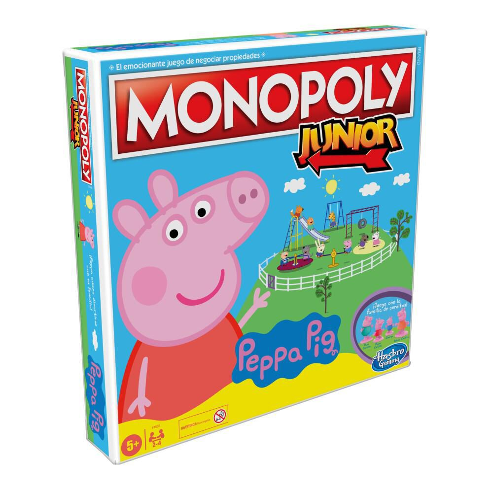 Juegos Infantiles Monopoly Junior Peppa Pig image number 3.0