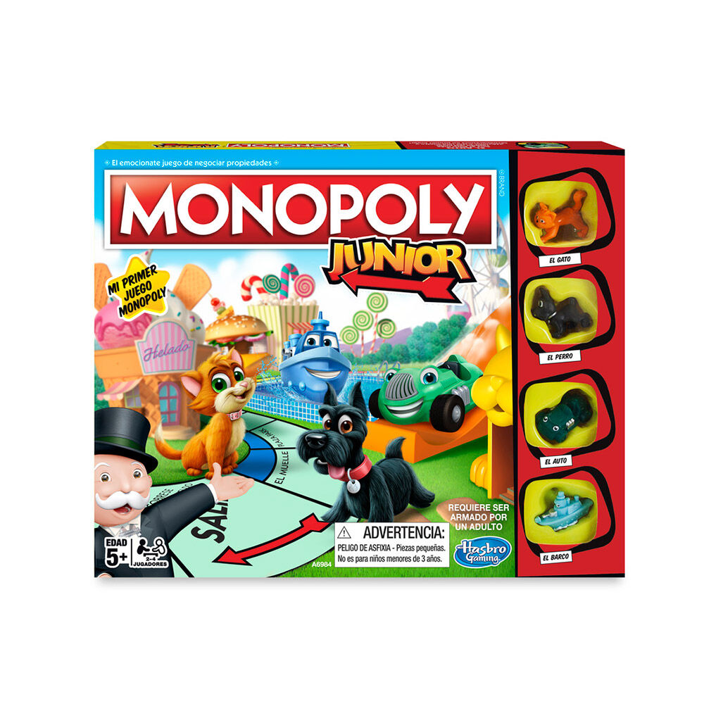 Juego De Mesa Monopoly Junior image number 0.0