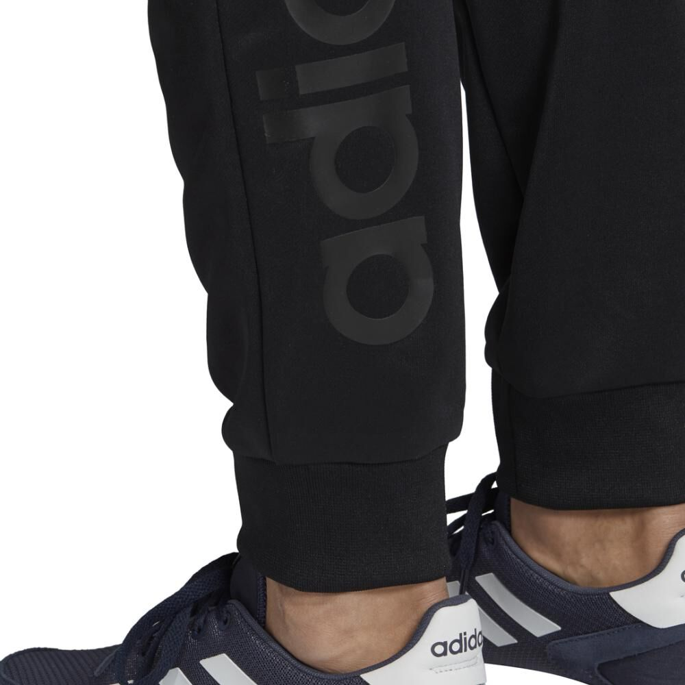 Buzo Con Capucha Hombre Adidas Linear French Terry image number 10.0