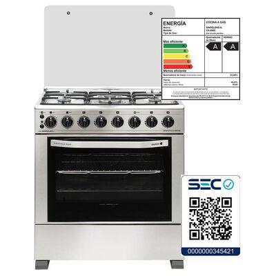 Cocina Sindelen Ch-8900in 5p / 5 Quemadores