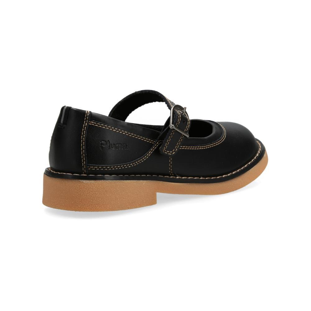 Zapato Escolar Mujer Pluma image number 2.0