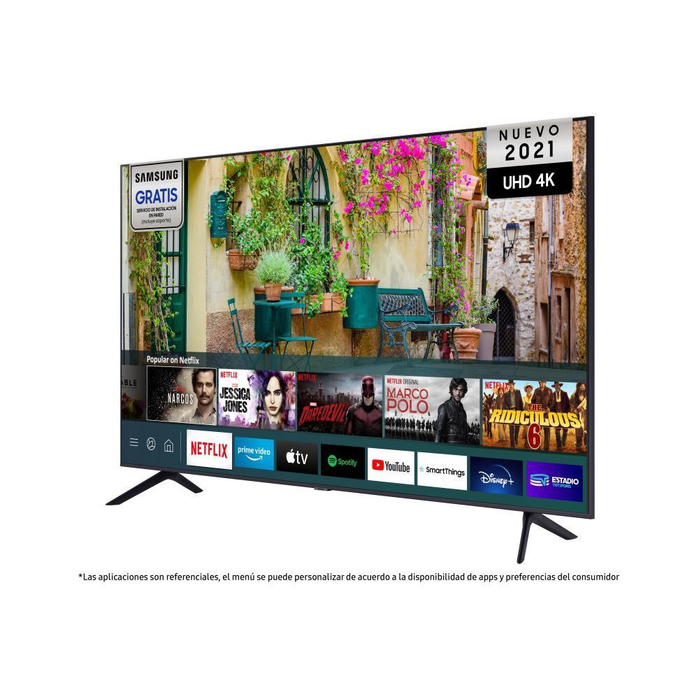 """Led Samsung AU7000 / 70"""" / Ultra Hd / 4k / Smart Tv 2021 image number 1.0"""