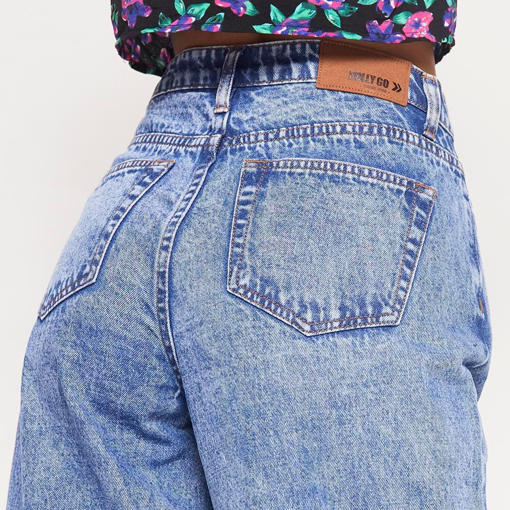 Jeans   Mujer Rolly Go image number 3.0